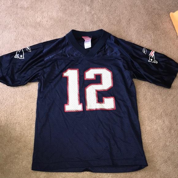 best sneakers 326b6 a3000 Vintage Tom Brady Jersey